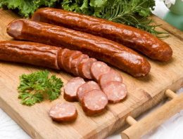 Game sausages